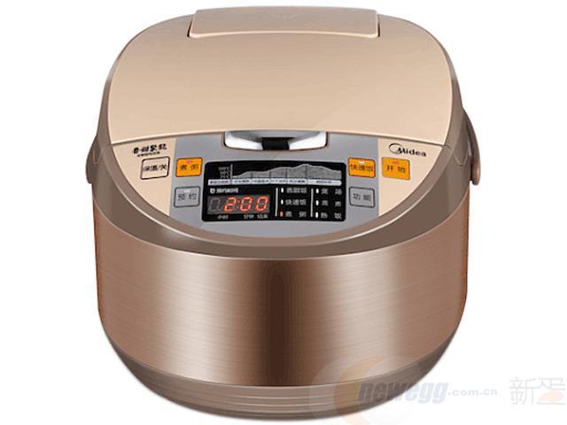 ¥199 Midea美的电饭煲4L容量拉丝机身多功能易操作MB-WRS4099A