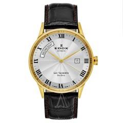 Edox 依度表 Les Vauberts 系列 83007-37R-AR 男士机械手表
