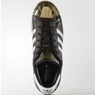 金属贝壳头!adidas Superstar 80s 女士贝壳头板鞋  40美元约¥253