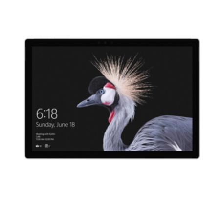 微软(Microsoft) 2017款 Surface Pro 12.3英寸 二合一平板电脑 + 键盘盖 ¥8188