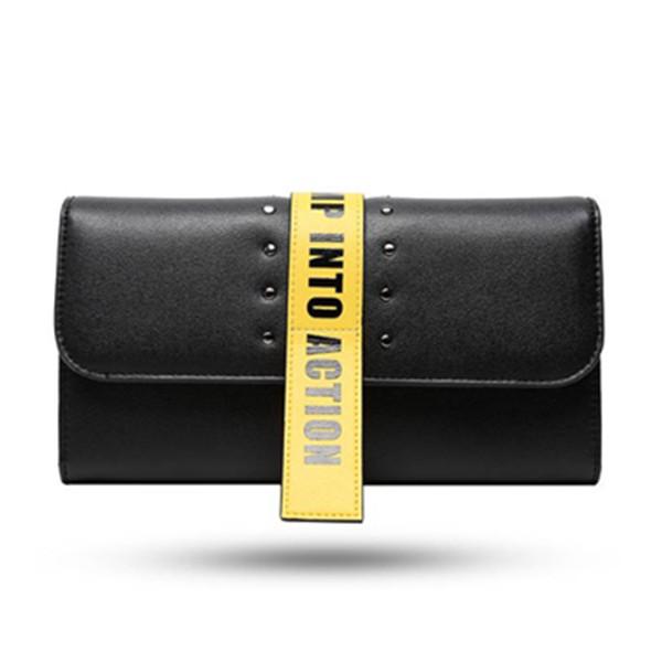 男女款!OMTO 个性字母手拿包长款钱包 101.2元包邮(需用券)