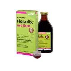 【好价】Salus Floradix mit Eisen 莎露斯铁元 补铁补气补血抗疲劳 500ml