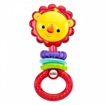 苏宁易购 Fisher Price费雪 小狮子磨牙婴幼儿玩具19.9元(已降20元)