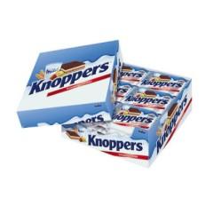 【免邮中国】knoppers 牛奶榛子巧克力威化饼干 24包