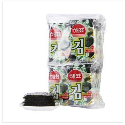 HAEPYO 海牌 海苔 64g(32小包) 折13.33元包邮(双重优惠)