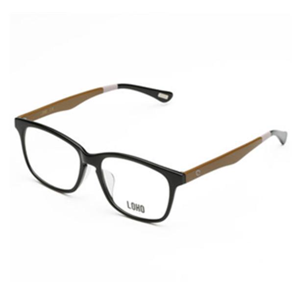 男女适用!LOHO眼镜生活 方框个性三色镜退眼镜框架 89元包邮(需用券)