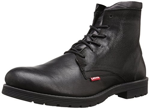 限US9.5D码: Levi's 李维斯 Hawthorn Engineer 男士真皮短靴 $31.38(约¥330)