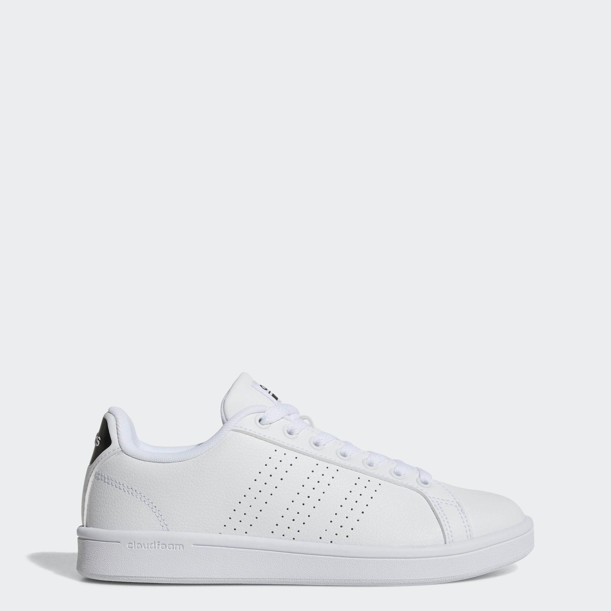 折合127.94元 Adidas阿迪达斯 Cloudfoam Advantage Clean女士经典小白鞋