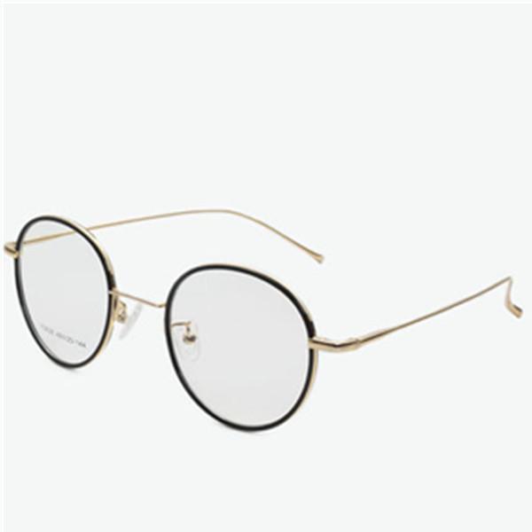 复古风!Bluekiki 黑色金框个性眼镜框 159元包邮(需用券)