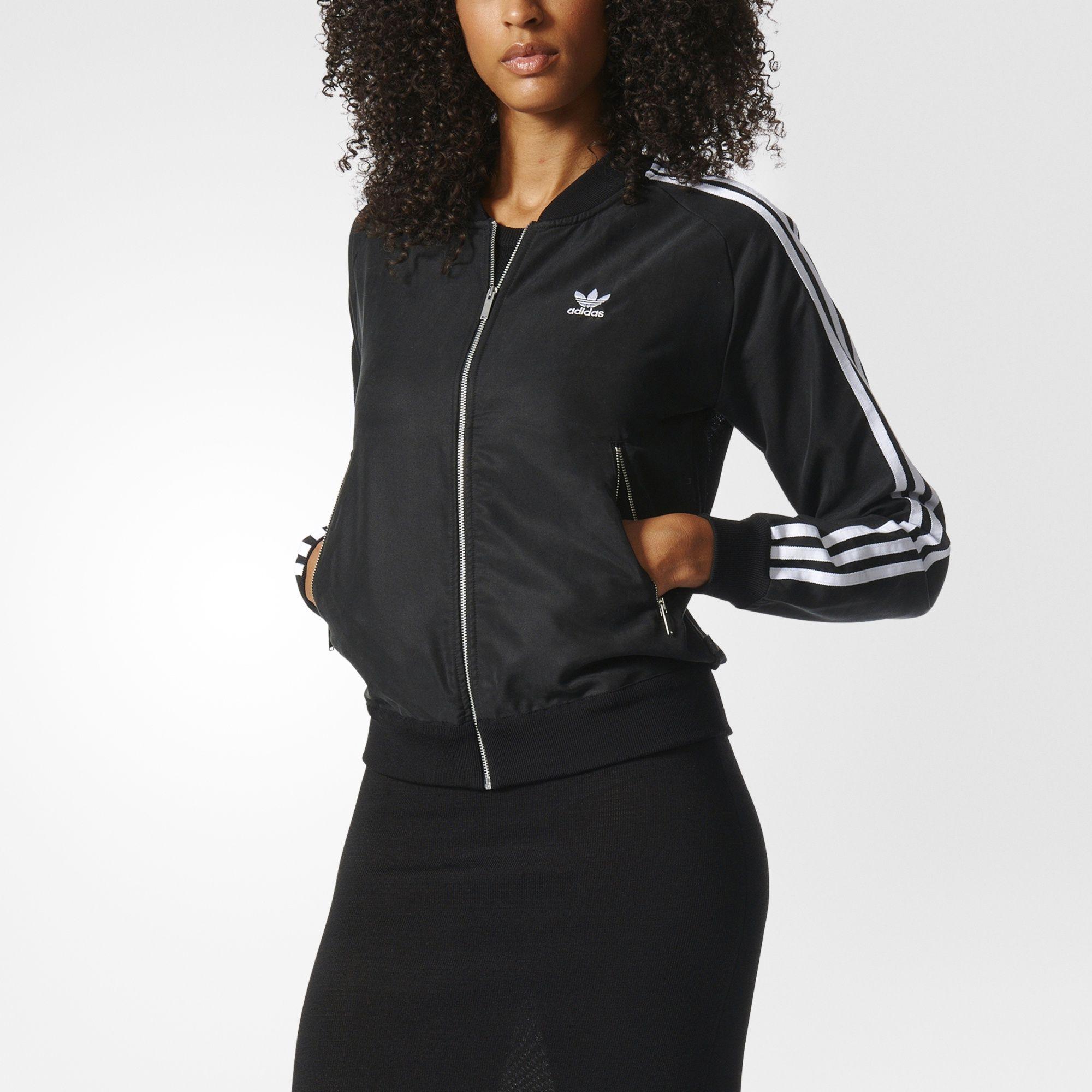折合191.94元 adidas 阿迪达斯 Superstar Track 女款经典夹克