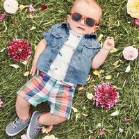 全场5折+满$40额外7.5折+免邮 Carter's 童装春季最大促销,新款超美