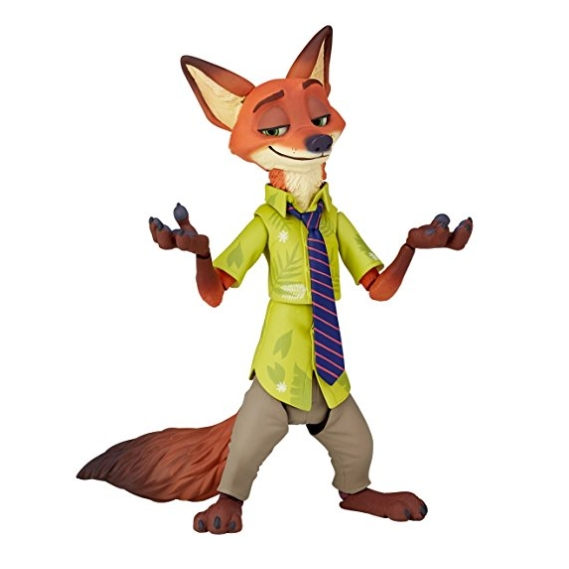 KAIYODO 海洋堂 Zootopia 疯狂动物城 狐狸尼克 手办 5290日元 转运到手约380元
