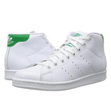 阿迪达斯(Adidas) Stan Smith Mid 男士运动板鞋 绿尾 ¥310