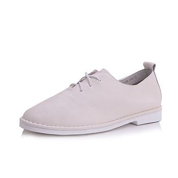 Belle百丽 女士时尚简约牛皮休闲鞋