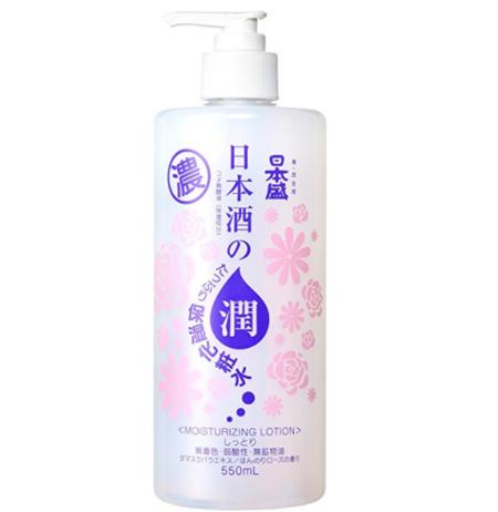 日本盛 日本酒高保湿化妆水 滋润款 玫瑰味 550ml ¥40