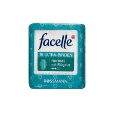 【9折】Facelle 菲思乐 丝滑超薄日用卫生巾3滴 230mm*16片