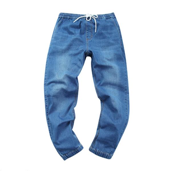 潮流舒适!A21夏季新款低腰束脚弹力九分牛仔裤 上新特惠价159元包邮