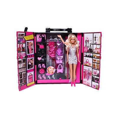 Barbie 芭比 X4833 梦幻衣橱 *2件 198元包邮(需用券合99元/件)