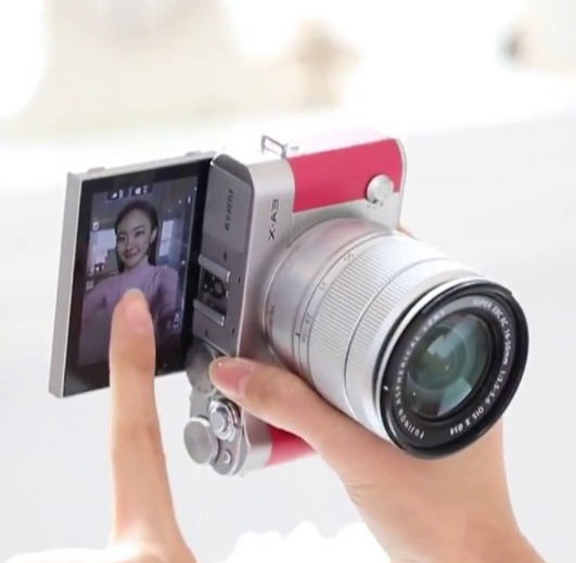 主打自拍!FUJIFILM 富士 X-A3 单电套机(XC16-50mm) 3350元包邮(需用码)
