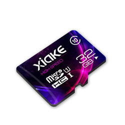 超级白菜日:                                XIAKE 夏科 microSDXC UHS-I U1 TF存储卡 天猫联名 32GB