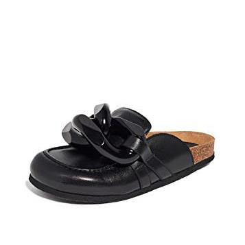 【上新+黄金码全】JW Anderson 链条穆勒鞋 $640(约4144元)