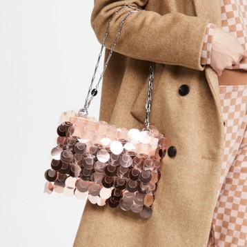 西班牙设计师品牌:Paco Rabanne 金属质感亮片包 ¥7,824.72  Shopbop烧包网6折直减¥4694.83 海淘