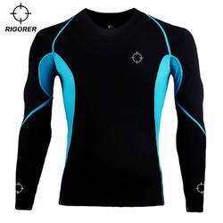 RIGORER 准者 Z121210605 男子运动健身压缩衣